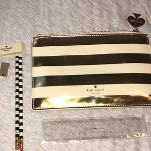 Kate Spade Cosmetic Bag/Pencil Case